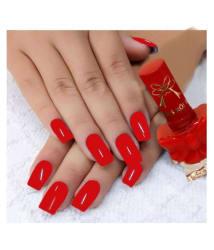 Miss Rose long lasting & Glossy Nail Polish Red Ribbon 21 - 3 ml