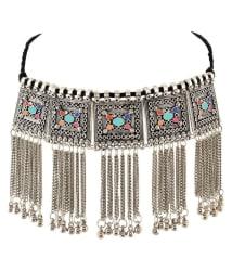 Foxy Trend Brass Silver Contemporary Contemporary/Fashion None Necklace
