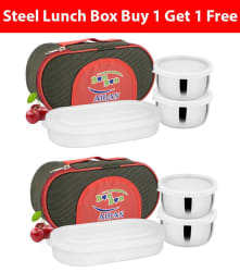 Airan Stainless Bon Bon Lunch Pack Buy 1 Get 1