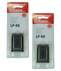 Canon LP-E6 1800 Rechargeable Battery 2