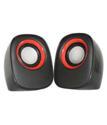 iFang IF-2 Multimedia 2.0 Speakers - Black For Laptop, PC, Mobiles, TV & More