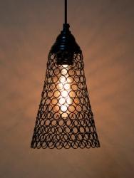 Homesake Black Solid Hanging Wall or Ceiling Lamp