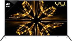 Vu Iconium 109cm (43 inch) Ultra HD (4K) LED Smart TV 43BU113
