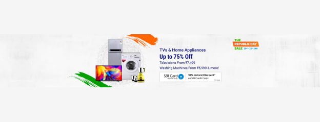 Tvs And Appliances Republic Day Best Store Online - Buy Tvs And Appliances Republic Day Best Online at Best Price in India | Flipkart.com
