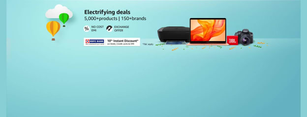 Electrifying deals on Electronics