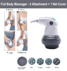 Maxtop Era Powerful Full Body Massager for Weight Loss and Pain Relief with 4 Attachments - MP 2250