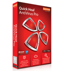 Quick Heal Antivirus Pro Latest Version ( 1 PC / 1 Year ) - Activation Code-Email Delivery