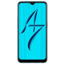 Oppo A7 (Glaze Blue, 64 GB, 4 GB RAM)