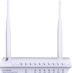 Digisol DG - HR3300 300 Mbps Wireless Broadband Home Router White