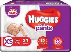 Huggies Wonder Pants Diaper - XS 24 Pieces