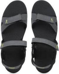 Puma Men Black, Grey Sports Sandals