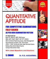 Quantitative Aptitude for Competitive Examinations (Paperback) (R S Aggarwal)
