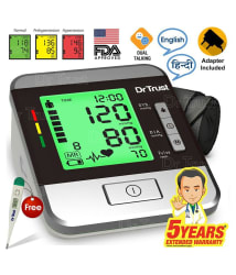 Dr. Trust digital GOLDLINE Talking with Adapter Automatic Blood Pressure Monitor Bp Monitor