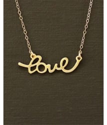 Popmode Alluring Love Word Gold Plated Women s Delicate Fashion Chain Necklace: Buy Popmode Alluring Love Word Gold Plated Women s Delicate Fashion Chain Necklace Online in India on Snapdeal