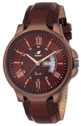 Espoir Analogue Brown Dial Day and Date Men s Boy s Watch - Anthony0507