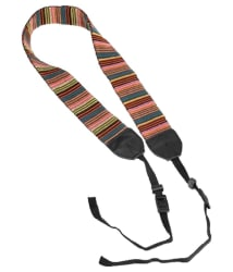 Ikacha Multicolour Neck Shoulder Strap for DSLR