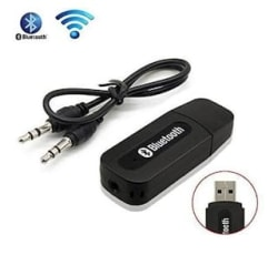 Car Bluetooth Device with 3.5mm Connector;Audio Receiver (Black)