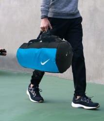 Nike Medium Polyester Gym Bag Cross Bag Man Side Bag Gents Bag Men Side Bag Carry Bag Men & Women Gym bag