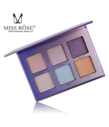 Miss Rose Shimmer Eyeshadow Palette 6 Shades