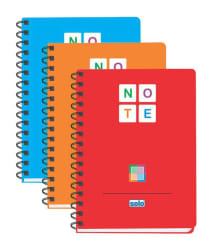 Solo Color Note Book - A5 (pack of 3 Notebooks)