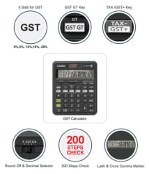 Casio MJ-120GST Desktop Calculator