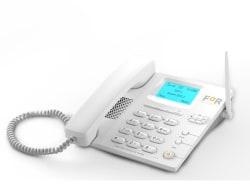 For F1+ Dual Sim GSM Wireless Landline Phone ( White )