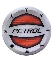 Car Petrol Inside Fuel Lid/Tank Round Decal/Badge/Sticker Printed for All Cars - Red