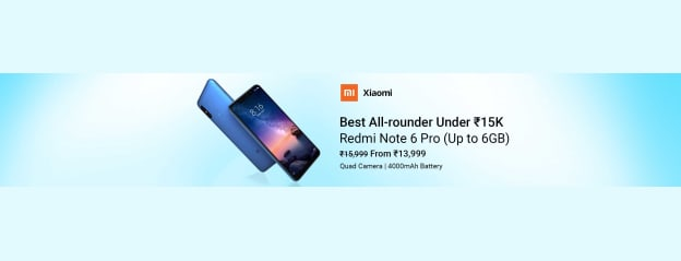 Redmi Note 6 Pro Series - Buy Redmi Note 6 Pro Series Online at Low Prices In India