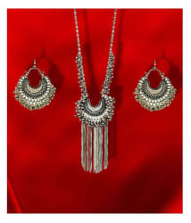 Renaissance Traders German Silver Silver Contemporary Contemporary/Fashion Silver Plated Necklaces Set