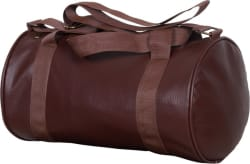 RR Accessories Antique Leather Rite Gym Bag Brown