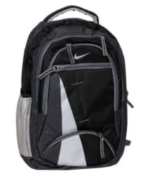 Nike Black Polyester College Bags Backpacks - 25 Ltrs