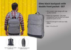 Mohawk Grey Backpack