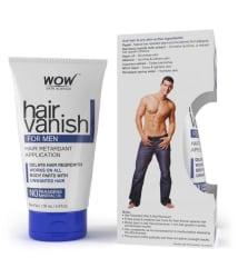 WOW Skin Science Hair Vanish for Men (No Parabens, Mineral Oils) 100 mL
