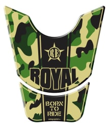 Autographix Royal Enfield Born To Ride Bike Tank Pad