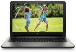 HP Pavilion Celeron Dual Core 4th Gen - (4 GB/500 GB HDD/DOS) 15- AC 117TU Laptop 15.6 inch, Turbo SIlver Color With Diamond & Cross Brush Pattern, 2.14 Kg kg