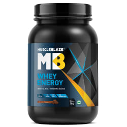 MuscleBlaze Whey Energy With Digezyme 1 kg