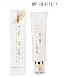 Swiss Beauty Cream Foundation Primer Mousse Foundation 40 ml