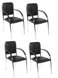 VISITOR CHAIR 118 SET OF 4 - Buy VISITOR CHAIR 118 SET OF 4 Online at Best Prices in India on Snapdeal