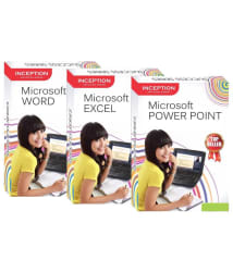 Learn MS Excel + MS Word + MS Power Point (Inception Success Series - 3 CDs)