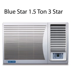 Blue Star 1.5 Ton 3 Star 3W18GA / 3W18LC Window Air Conditioner