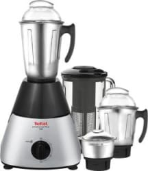 Tefal Infiniforce Plus ( MG - 183 ) 750 W Mixer Grinder Silver, Black, 4 Jars