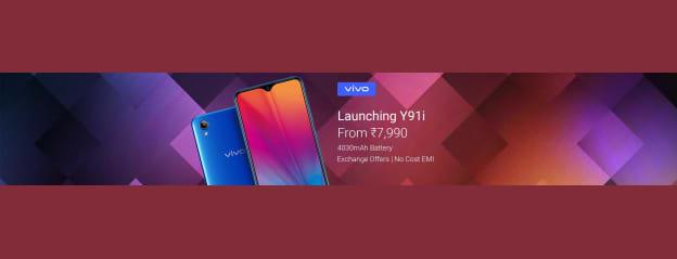 Vivo Y91i (Fusion Black, 16 GB) Online at Best Price On Flipkart.com
