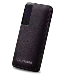 Innotek IK112 10000 -mAh Li-Ion Power Bank Brown
