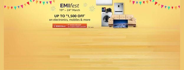 EMI fest ICICI @ Amazon.in