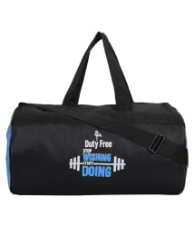 Duty Free Medium Polyester Gym Bag Men Gyms Bags Shoulder Bag Travel Bag For Men & Women Low Price Men Side Bag Cross Bag