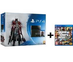 Sony PlayStation 4 Bloodborne Bundle 500 GB with GTA V | July 2019
