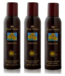 Royal Mirage Deodorant Spray 450 ml Pack of 3