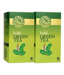 LaPlant - Tulsi Green Tea, 50 Tea Bags