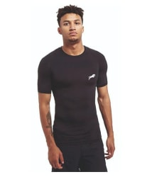 Just rider Men Polyester Compression Tshirt
