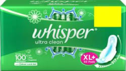 Whisper Ultra Clean XL Plus Sanitary Pad Pack of 30